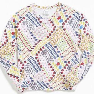 Champion colorful sweatshirt size M NWT!